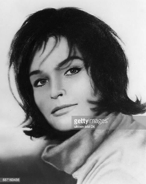 Domroese Angelica Schauspielerin DDR Portrait 1963