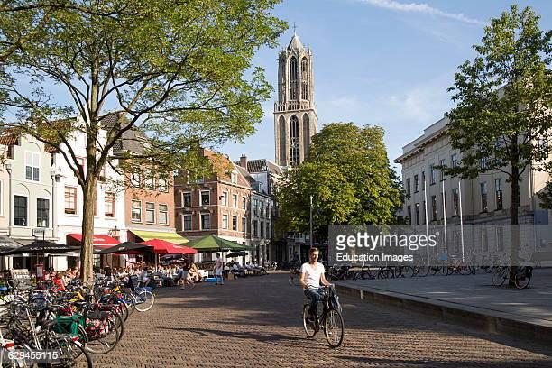 Domtoren Dom tower historic buildings Utrecht Netherlands