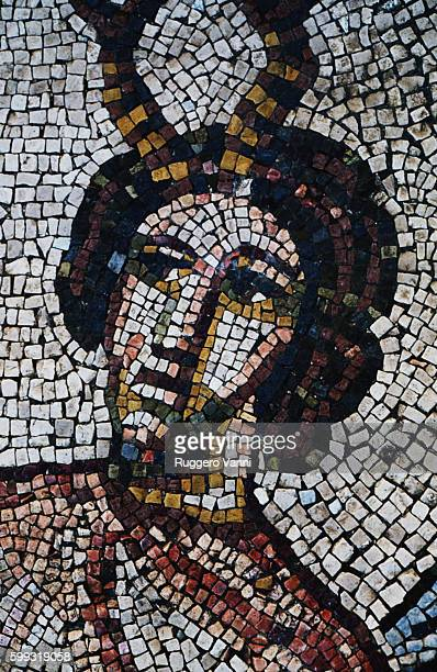 Mosaic of Venus Anadyomene With Nereids and Tritons [detail]