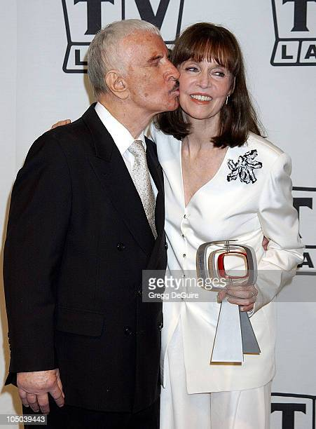 Don Adams and Barbara Feldon during TV Land Awards A Celebration of Classic TV Press Room at Hollywood Palladium in Hollywood California United States
