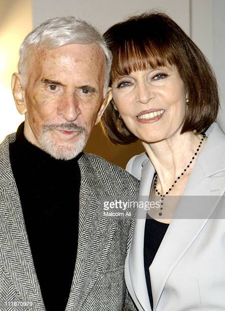 Don Adams and Barbara Feldon during Would You BelieveA Get Smart Reunion at Museum of Television and Radio in Beverly Hills California United States
