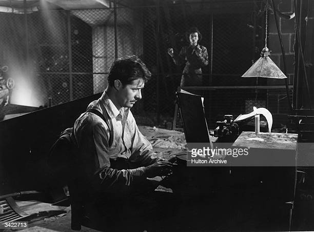 Don Ameche and Joan Bennett star in the film 'Confirm Or Deny' a minor romantic wartime drama directed by Archie Mayo