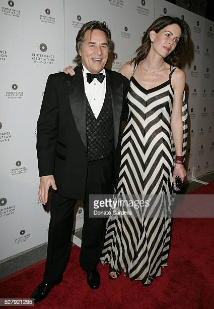 Don and Kelly Johnson during NYC Ballet BlackTie Gala Opening at Dorothy Chandler Pavilion in Los Angeles California United States