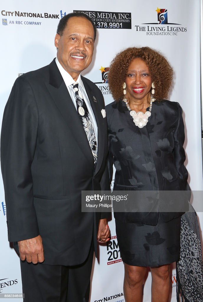 Don and Rose Jackson arrive at The Living Legends Foundation's 21st annual awards gala - at Taglyan Cultural Complex on October 5, 2017 in Hollywood, California.