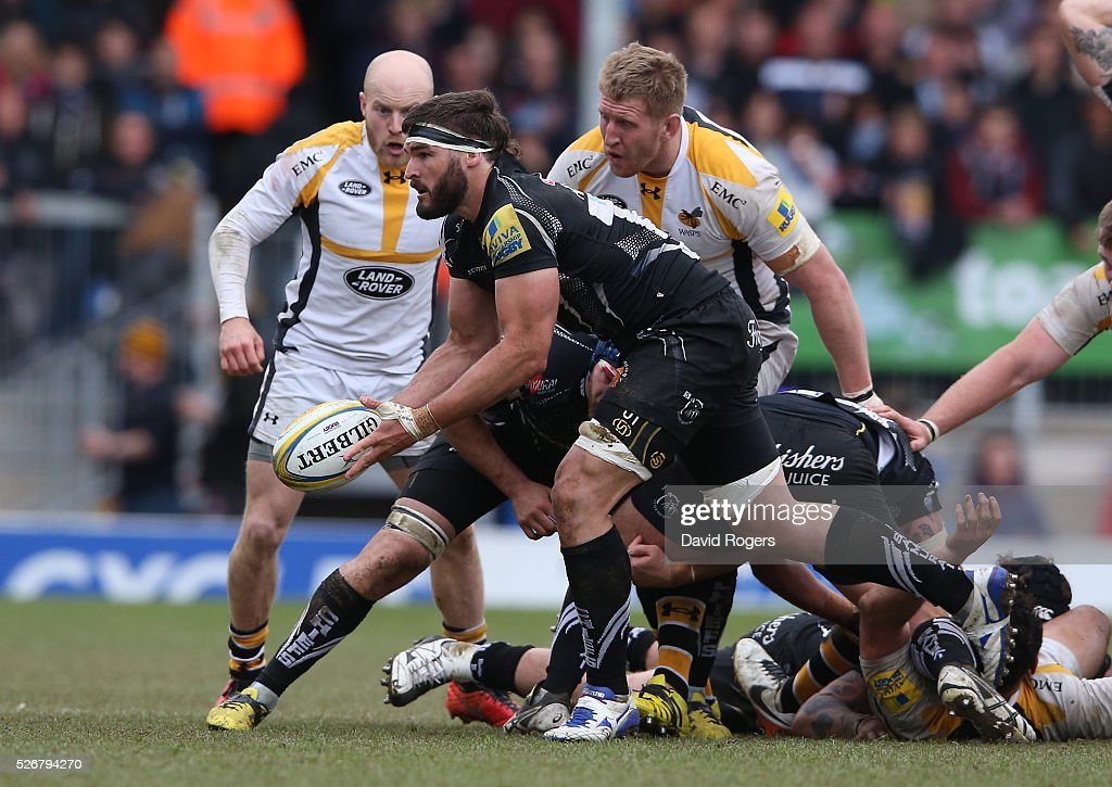 Exeter Chiefs v Wasps - Aviva Premiership : News Photo