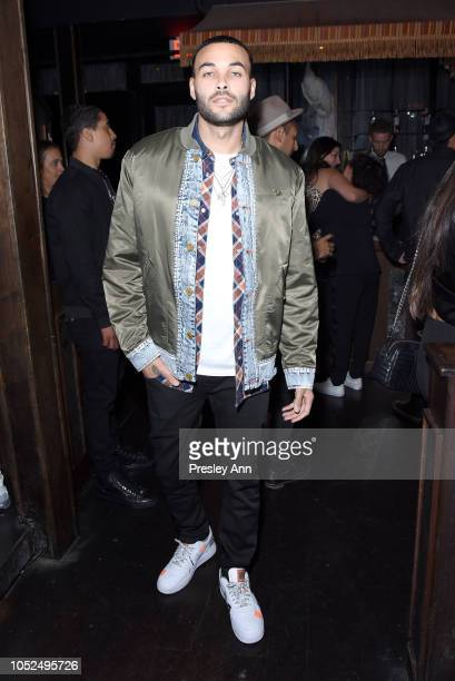 Don Benjamin attends Bella Hadid x True Religion Event Campaign Party at Poppy on October 18 2018 in Los Angeles California