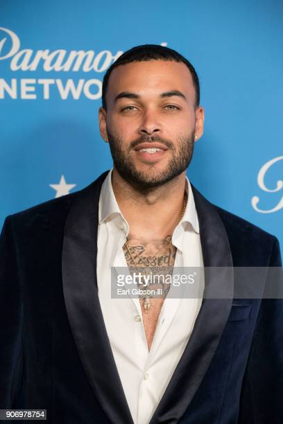 Don Benjamin attends Paramount Network Launch Party at Sunset Tower on January 18 2018 in Los Angeles California