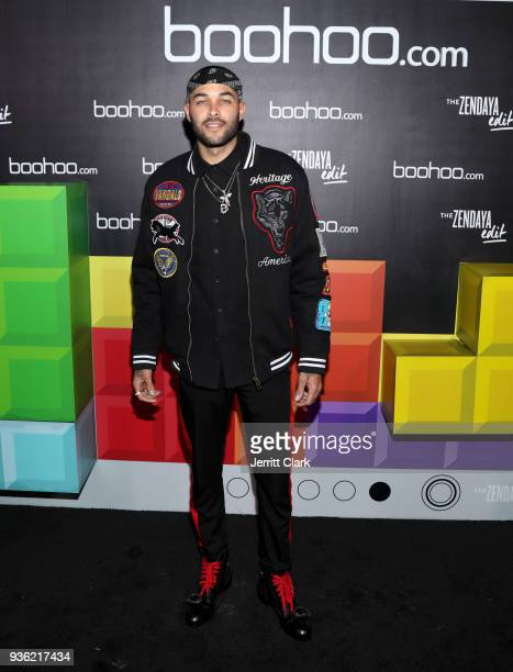 Don Benjamin attends the launch of the boohoocom spring collection and the Zendaya Edit at The Highlight Room at the Dream Hollywood on March 21 2018...