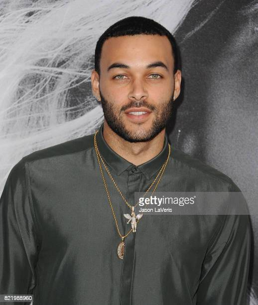 Don Benjamin attends the premiere of 'Atomic Blonde' at The Theatre at Ace Hotel on July 24 2017 in Los Angeles California