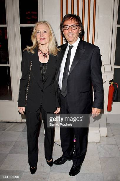 Don Black and Shirley Black attend the after party of the launch night of 'Top Hat' at The Waldorf Hilton Hotel on May 9 2012 in London England
