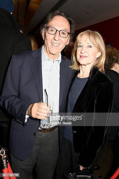 Don Black and Shirley Blackstone attend a special screening of Joy at the Ham Yard Hotel on December 17 2015 in London England