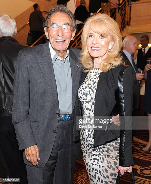 Don Black and Shirley Blackstone attend the press night performance of Evita at the Dominion Theatre on September 22 2014 in London England