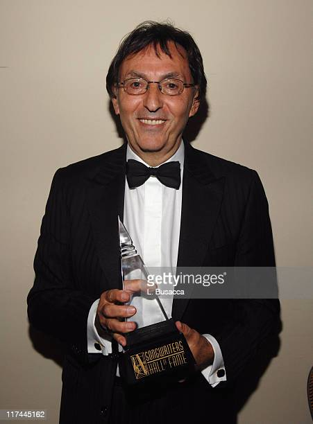 Don Black during 38th Annual Songwriters Hall of Fame Ceremony - Cocktails and Backstage at Marriott Marquis in New York City, New York, United...