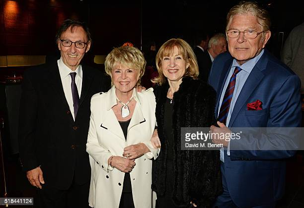 Don Black Gloria Hunniford Shirley Blackstone and Stephen Way attend the press night after party of How The Other Half Loves at Mint Leaf on March 31...