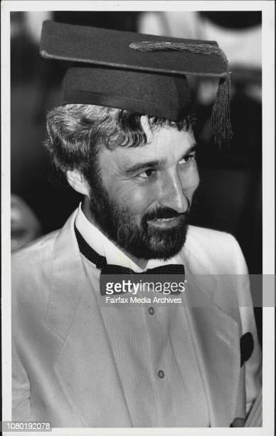 Don Burke - Garden Consultant. July 24, 1987.
