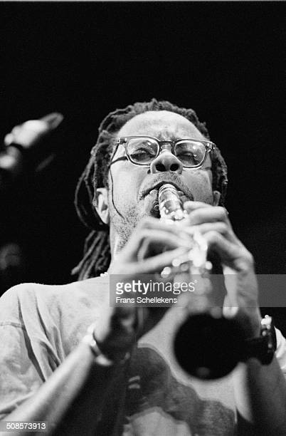 Don Byron, clarinet, performs at the North Sea Jazz Festival in the Hague, Netherlands on 15th July 1995.