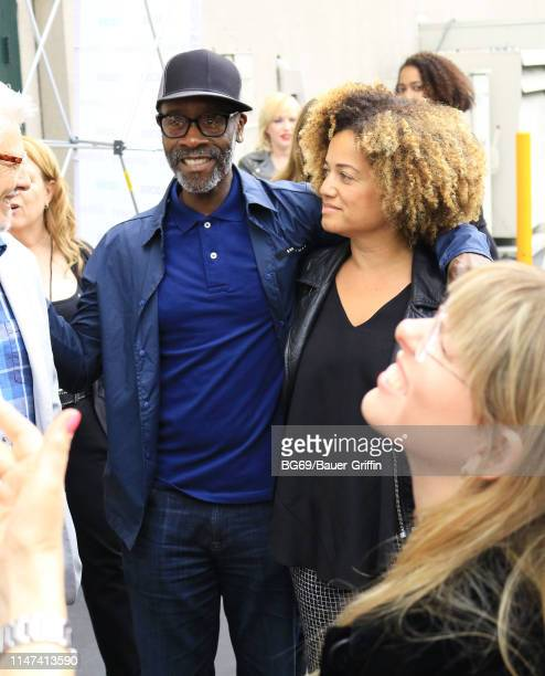 Don Cheadle and Bridgid Coulter are seen on June 01 2019 in Los Angeles California