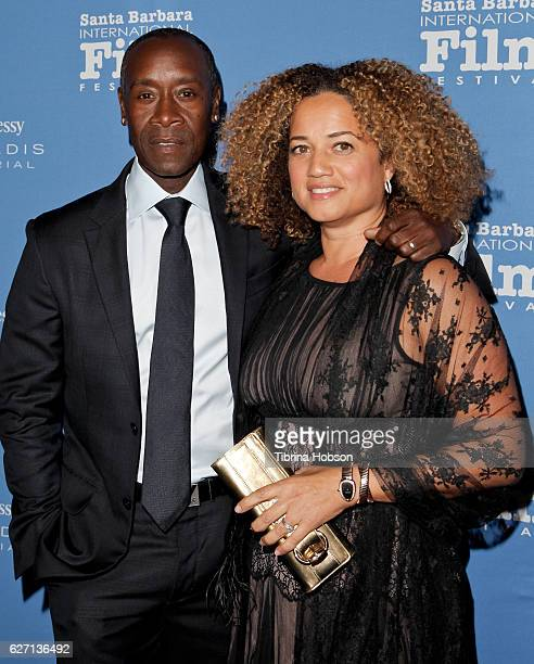 Don Cheadle and Bridgid Coulter attend Santa Barbara International Film Festival's 11th Annual Kirk Douglas Award for Excellence In Film honoring...