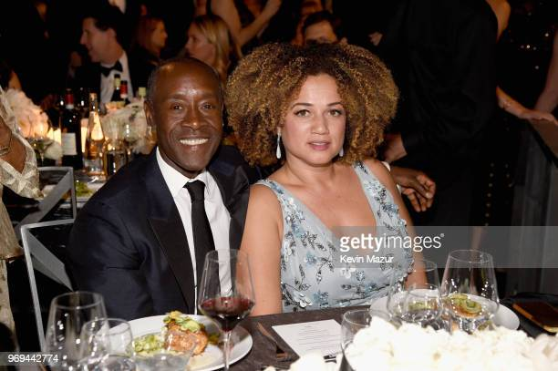 Don Cheadle and Bridgid Coulter attend the American Film Institute's 46th Life Achievement Award Gala Tribute to George Clooney at Dolby Theatre on...