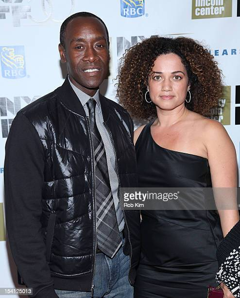Don Cheadle and wife Bridgid Cheadle attend Closing Night Gala Presentation Of Flight during the 50th New York Film Festival at Alice Tully Hall on...