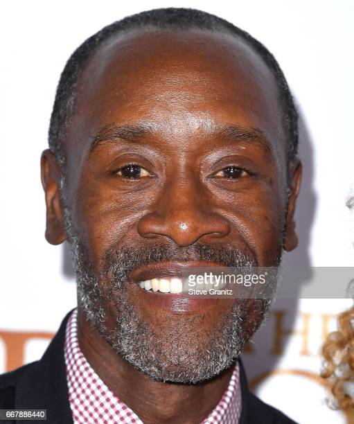 Don Cheadle arrives at the Premiere Of Open Road Films' 'The Promise' at TCL Chinese Theatre on April 12 2017 in Hollywood California