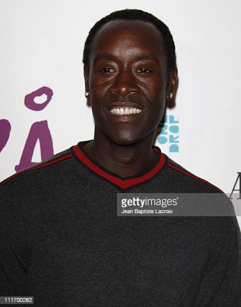 Don Cheadle arrives for the Cirque Du Soleil Opening Night Gala For Kooza at Santa Monica Pier on October 16 2009 in Santa Monica California