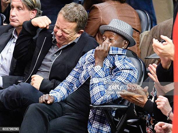 Don Cheadle attends a basketball game between the Memphis Grizzlies and the Los Angeles Clippers at Staples Center on November 16 2016 in Los Angeles...