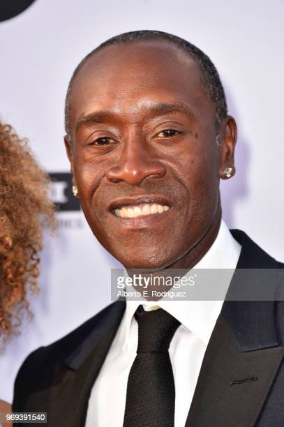 Don Cheadle attends American Film Institute's 46th Life Achievement Award Gala Tribute to George Clooney at Dolby Theatre on June 7 2018 in Hollywood...