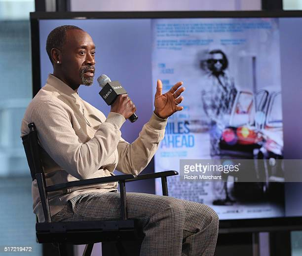 Don Cheadle attends AOL Build Speaker Series Don Cheadle Discusses His Directorial Debut In 'Miles Ahead' at AOL Studios In New York on March 24 2016...