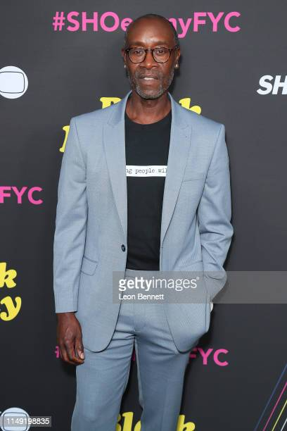 Don Cheadle attends FYC Red Carpet Event For Showtimes' Black Monday at Saban Media Center on May 14 2019 in North Hollywood California