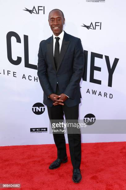 Don Cheadle attends the American Film Institute's 46th Life Achievement Award Gala Tribute to George Clooney at Dolby Theatre on June 7 2018 in...