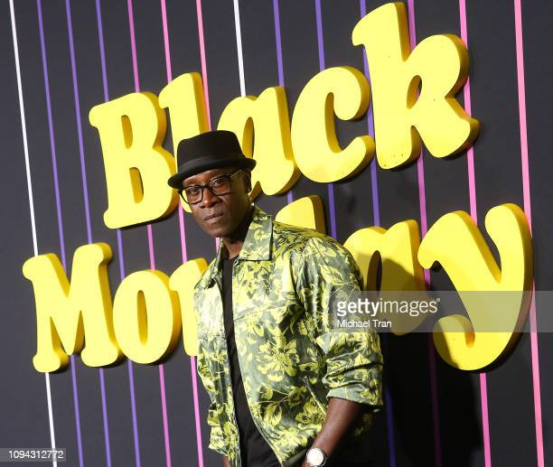Don Cheadle attends the Los Angeles premiere of Showtime's Black Monday held at The Theatre at Ace Hotel on January 14 2019 in Los Angeles California