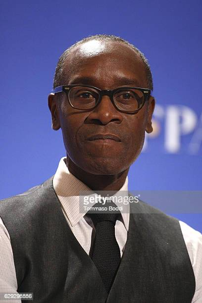 Don Cheadle attends the Nominations Announcement For The 74th Annual Golden Globe Awards at The Beverly Hilton Hotel on December 12 2016 in Beverly...