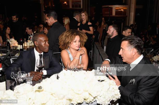 Don Cheadle Bridgid Coulter and Andy Garcia attend the American Film Institute's 46th Life Achievement Award Gala Tribute to George Clooney at Dolby...