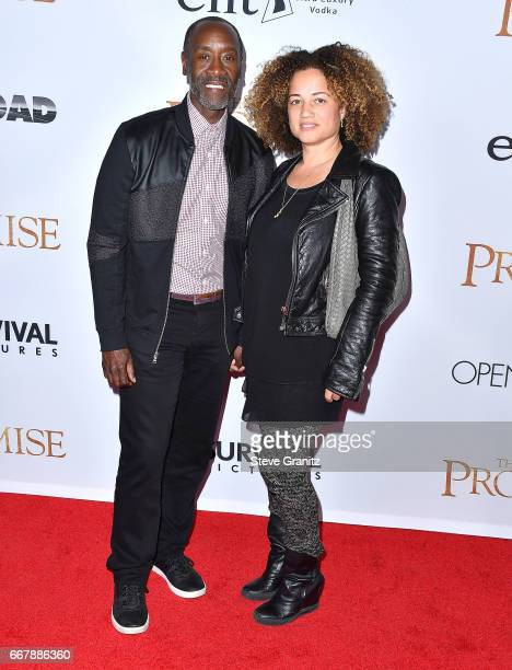 Don Cheadle Bridgid Coulter arrives at the Premiere Of Open Road Films' The Promise at TCL Chinese Theatre on April 12 2017 in Hollywood California