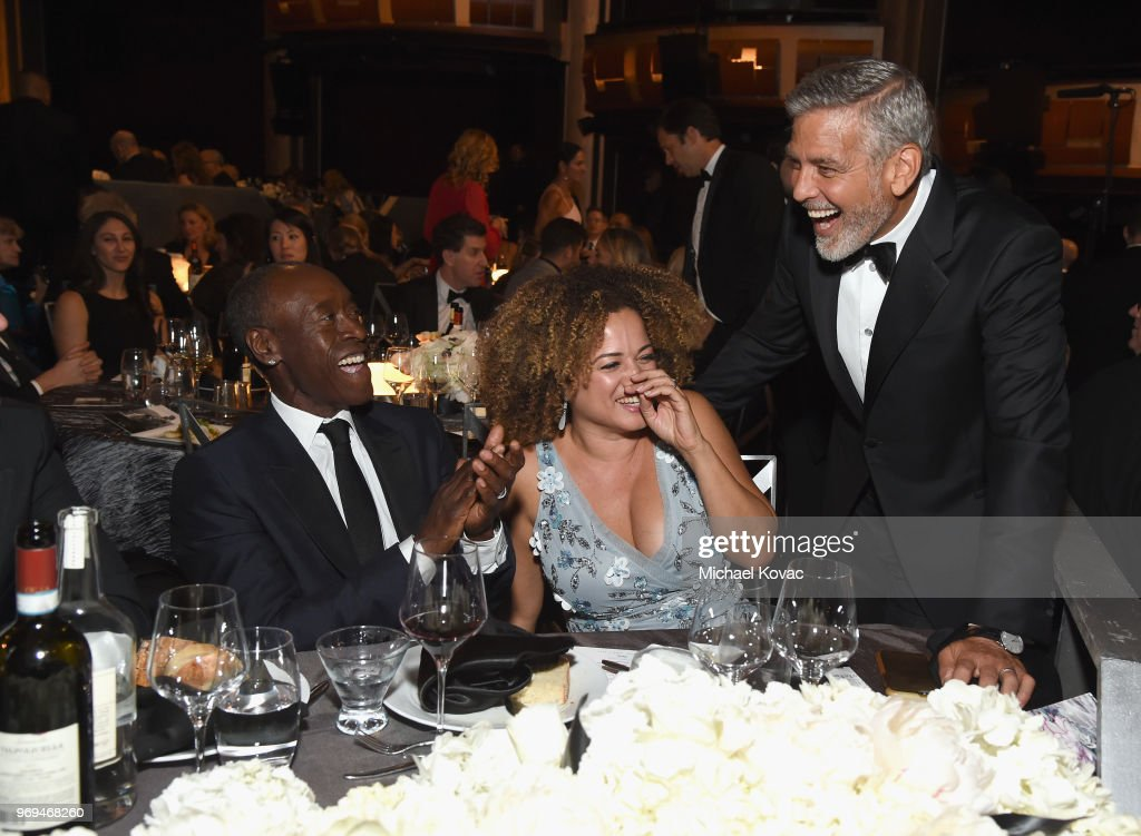 American Film Institute's 46th Life Achievement Award Gala Tribute to George Clooney - Roaming Inside : News Photo