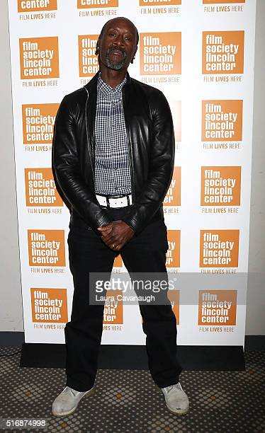 Don Cheadle in Conversation at The Film Society of Lincoln Center on March 21, 2016 in New York City.
