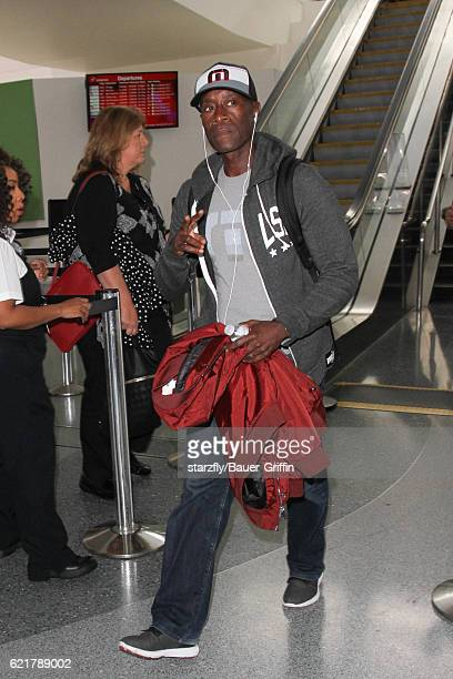 Don Cheadle is seen at LAX on November 08 2016 in Los Angeles California