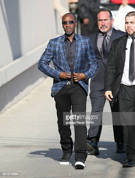 Don Cheadle is seen on April 13 2016 in Los Angeles California