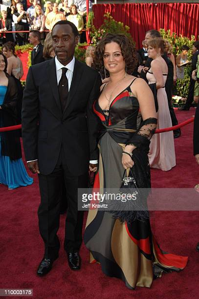 "Don Cheadle nominee Best Actor in a Leading Role for ""Hotel Rwanda"" and Bridgid Coulter"