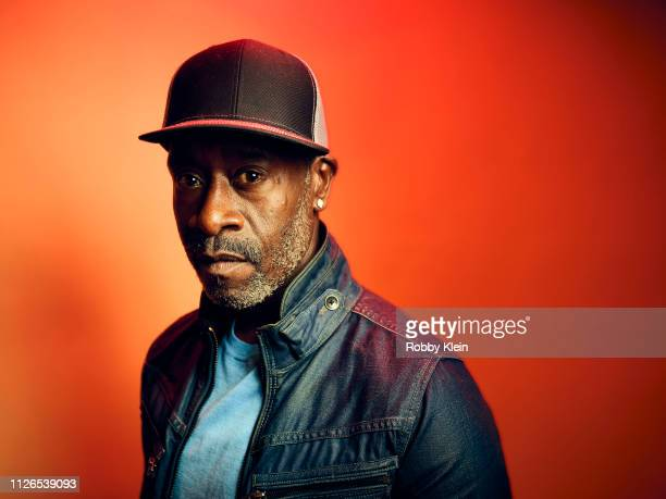 Don Cheadle of Showtime's 'Black Monday' poses for a portrait during the 2019 Winter TCA at The Langham Huntington Pasadena on January 31 2019 in...