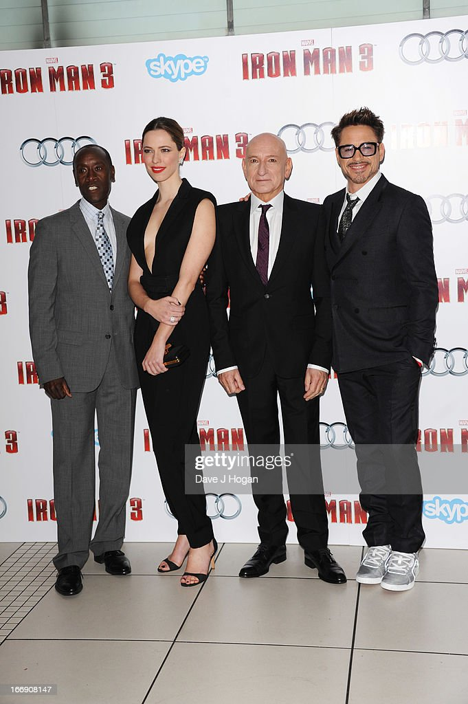 Iron Man 3 - Special Screening - Inside Arrivals : News Photo