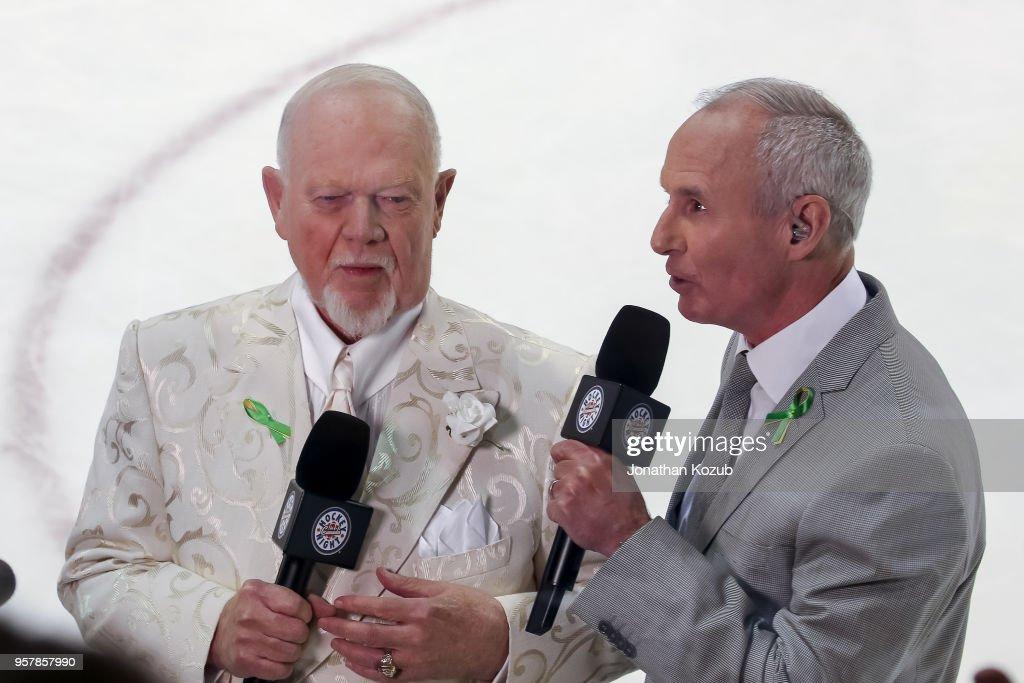 Vegas Golden Knights v Winnipeg Jets - Game One : News Photo