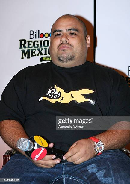 Don Cheto participates in the panel discussion on DJ Power during the Billboard Regional Mexican Music Summitt at the Hilton Hotel on October 2 2007...