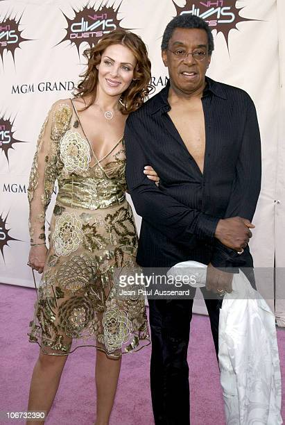 Don Cornelius and Guest during VH1 Divas Duets A Concert to Benefit the VH1 Save the Music Foundation Arrivals at MGM Grand Garden Arena in Las Vegas...
