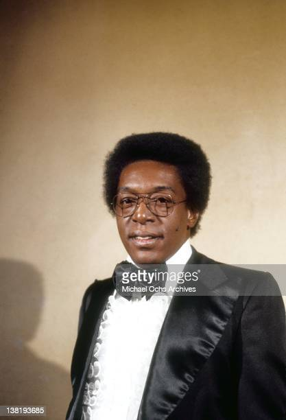Don Cornelius host and producer of the TV show 'Soul Train' attends an event in January 1975 in Los Angeles California