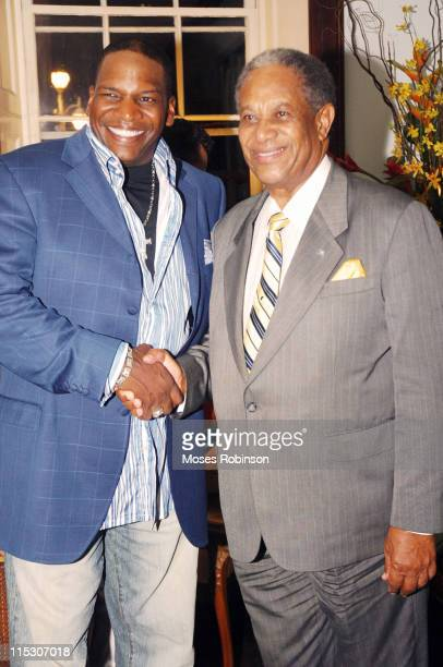 Don DC Curry comedian and Sir Orville Turnquest Former Governor General of the Commonwealth of Bahamas