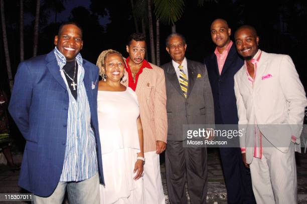 Don DC Curry comedian Myra J actress/comedian Morris Day singer Sir Orville Turnquest Former Governor General of the Commonwealth of Bahamas Dr...