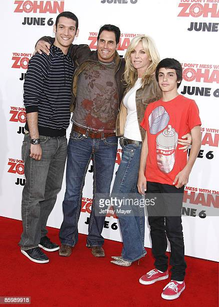 """Don Diamont and Family arrive at Sony Pictures Premiere of """"You Don't Mess With the Zohan"""" on May 28, 2008 at Grauman's Chinese Theatre in Hollywood,..."""