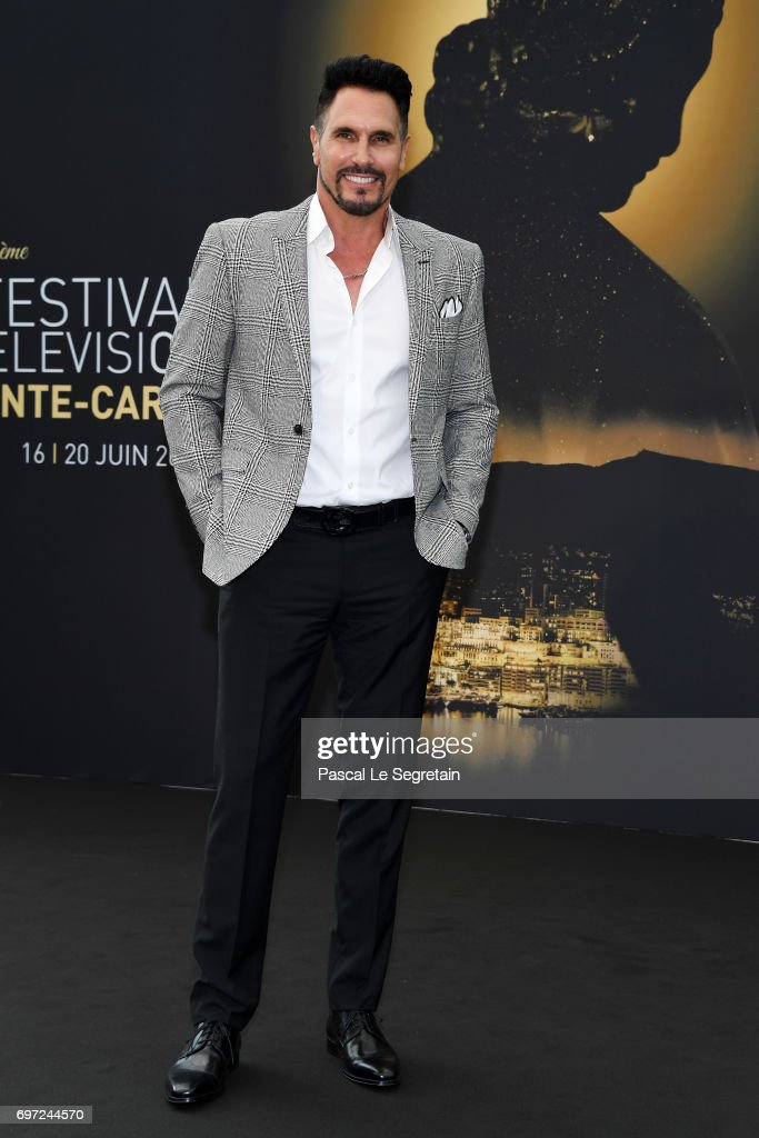 Don Diamont from 'The bold and the beautiful' attends a photocall during the 57th Monte Carlo TV Festival : Day 3 on June 18, 2017 in Monte-Carlo, Monaco.